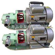 WCB微型手提式齿轮泵