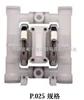 P025威爾頓氣動隔膜泵