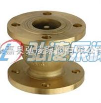 止回阀价格:H41X/W全铜消声止回阀