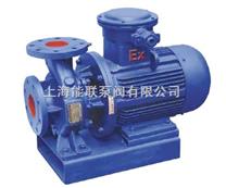 ISWB卧式单级单吸防爆油泵