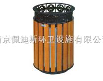 南京钢木单桶果壳箱