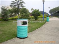 四星园林景观 环保玻璃钢垃圾桶