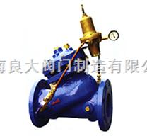 YX741X隔膜式可调减压稳压阀【原理尺寸,标准特点】良大品牌