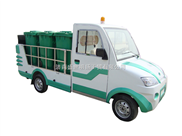 电动装桶车,垃圾桶运输车