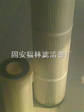 350*1400塑料端盖除尘滤筒