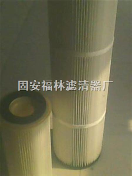 塑料端盖除尘滤筒