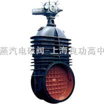 Z945X-10 型鑄鐵電動暗杆軟密封閘閥