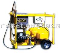 马哈 750公斤超高压清洗机 喷砂作业
