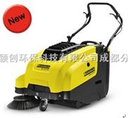 四川成都重慶貴州雲南西安凱馳手推式吸塵清掃車KM75/40W電瓶驅動掃地車