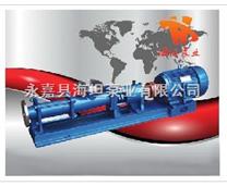 单螺杆泵选型