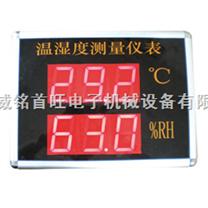 大屏幕顯示溫濕度儀表(威銘電子)